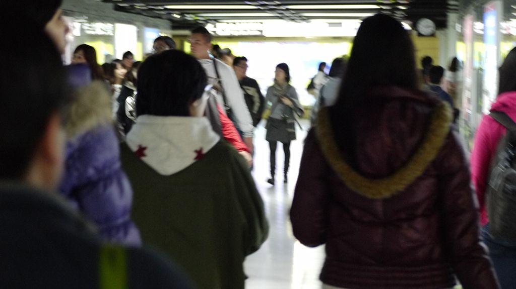 台北駅地下通路