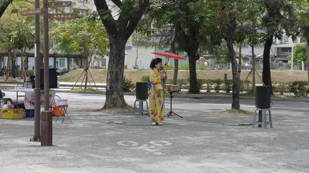 演歌を唄う熟女