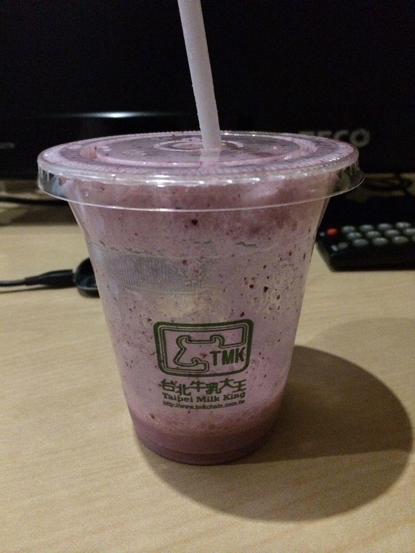 台北牛乳大王で購入した飲み物