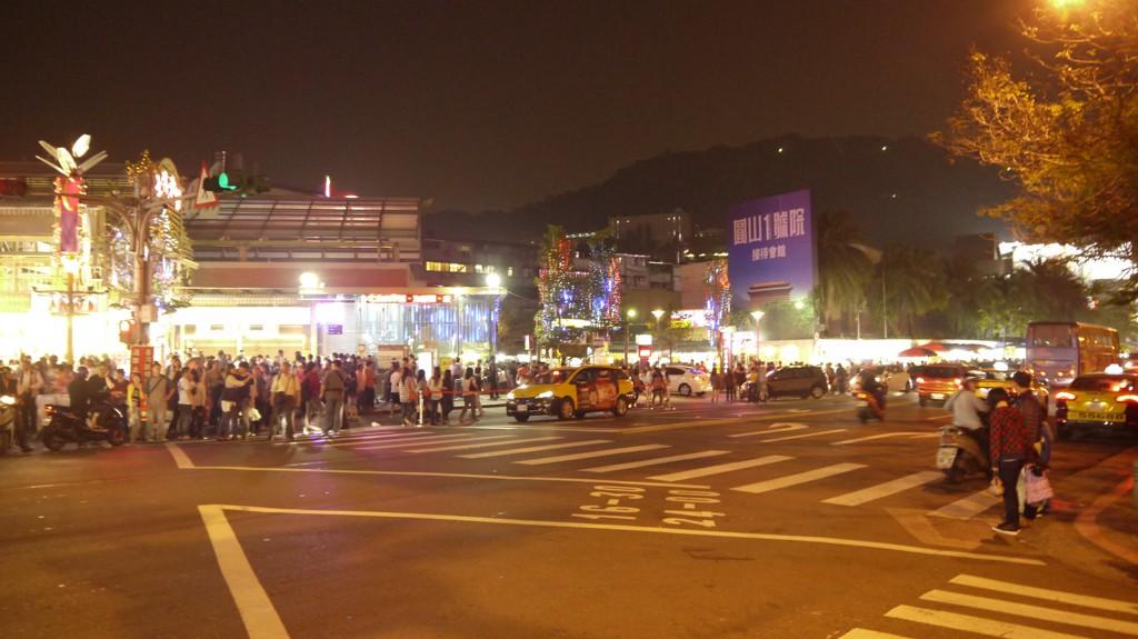 台北交差点
