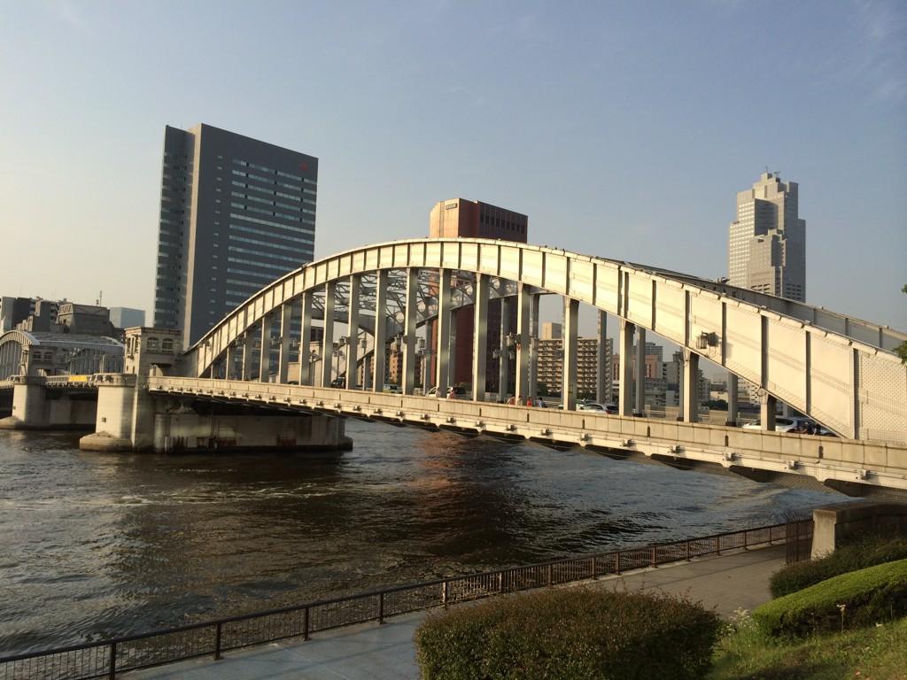 晴海通りの橋