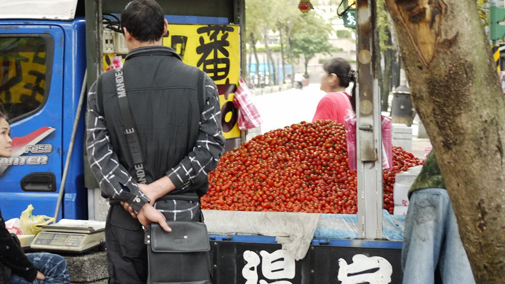 台湾のミニトマト