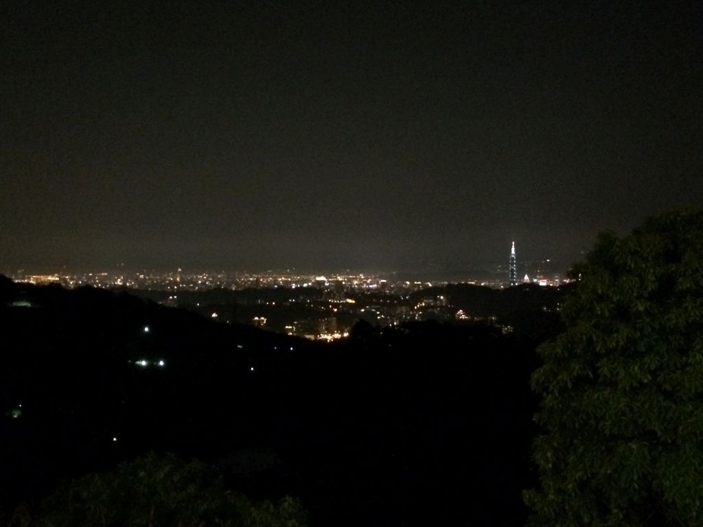 猫空から見える夜景
