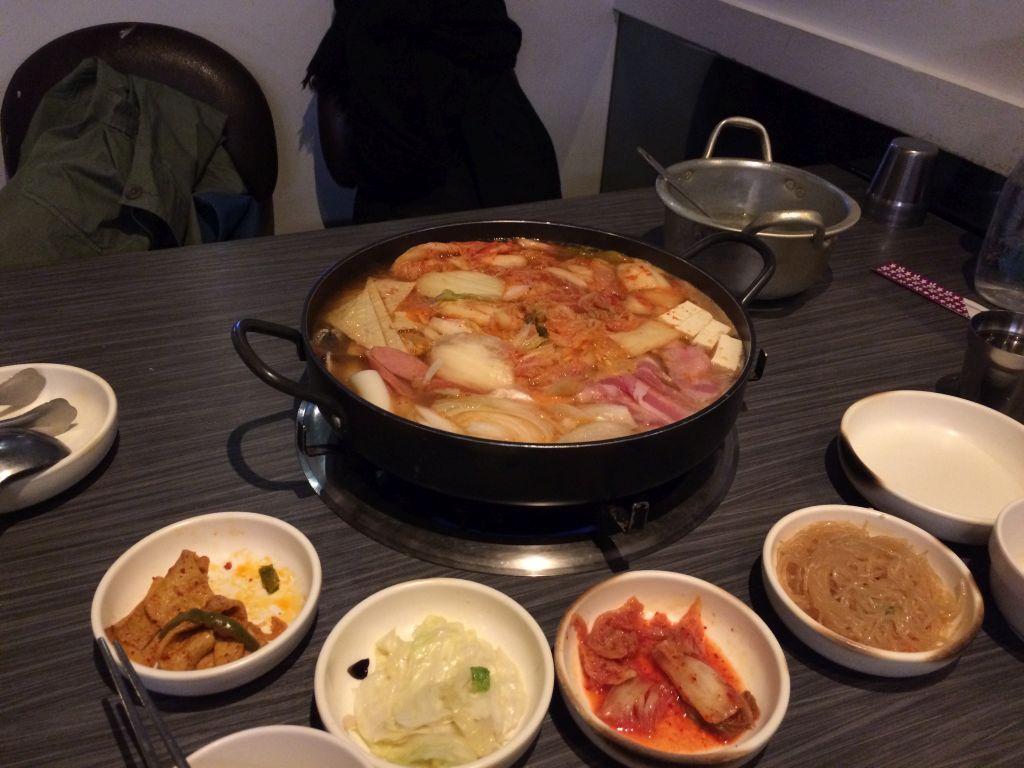 台湾人の友人と食べた韓国料理