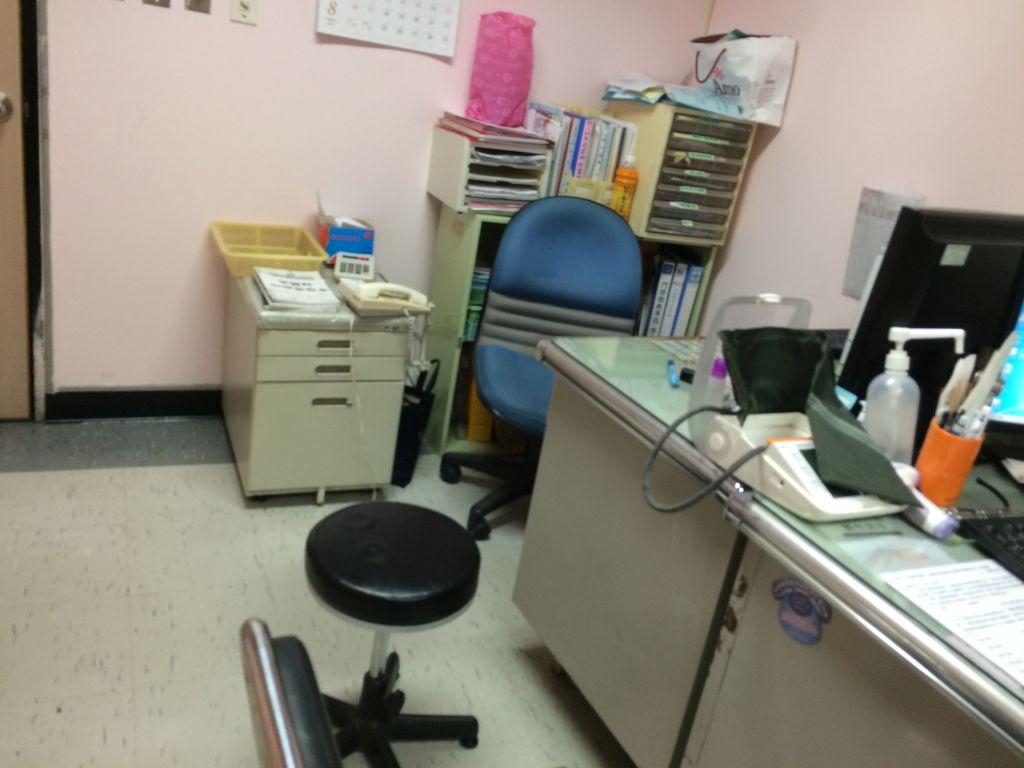 診察室の中