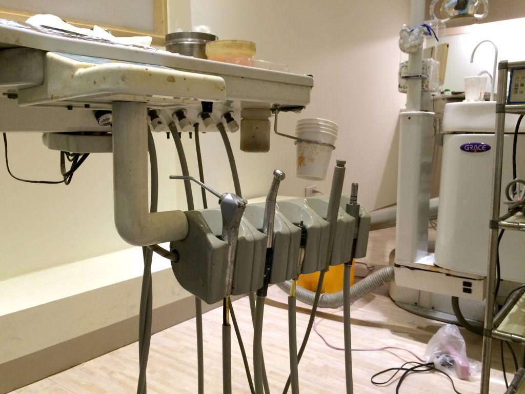 歯医者の機材