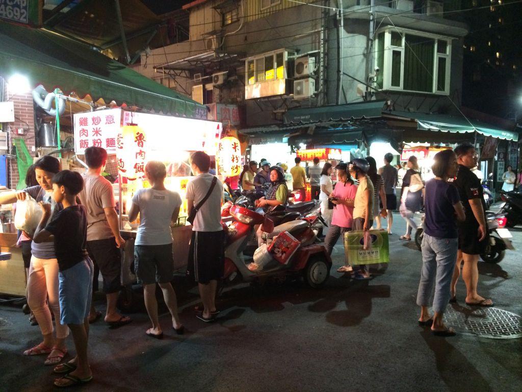 台北の夜市