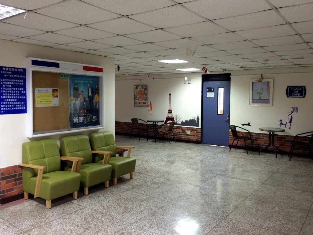 台湾師範大学の廊下
