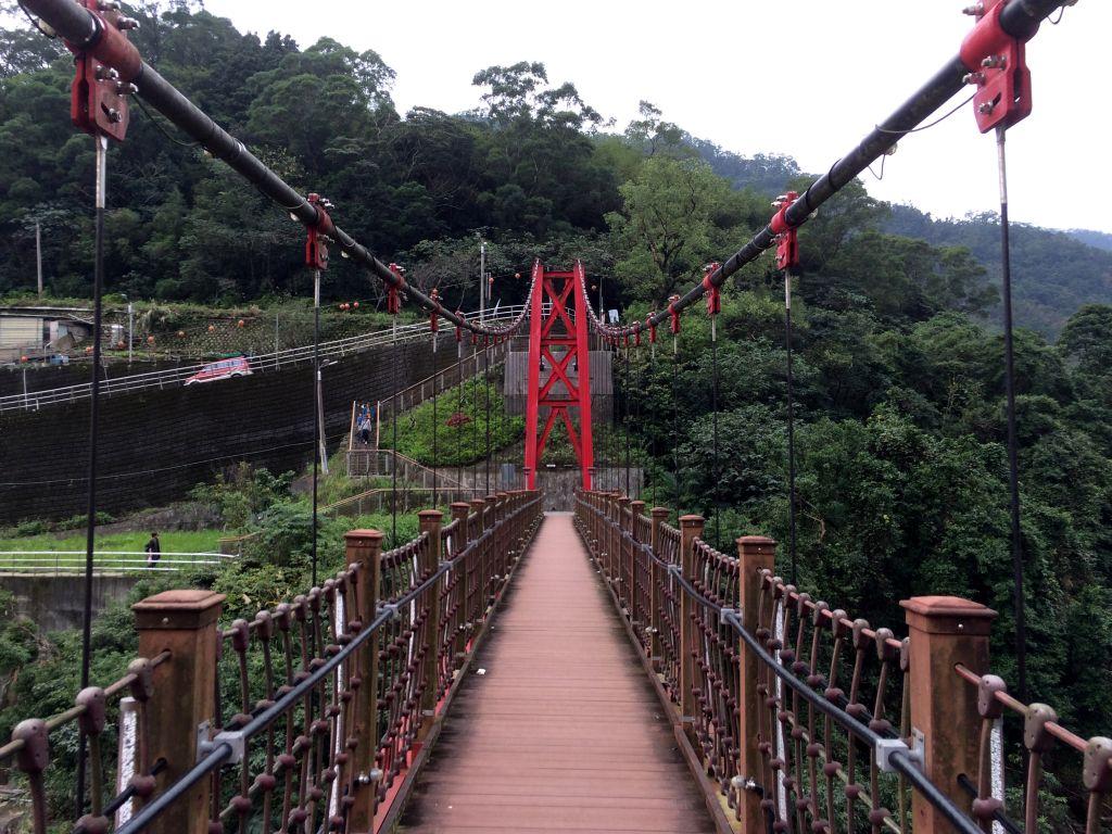 あんまり恐くない吊橋