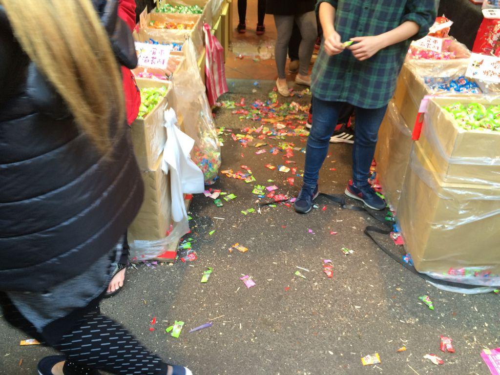 包装のゴミ