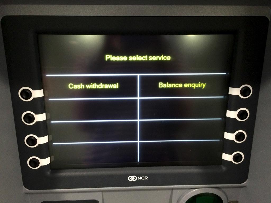 ATM操作画面01