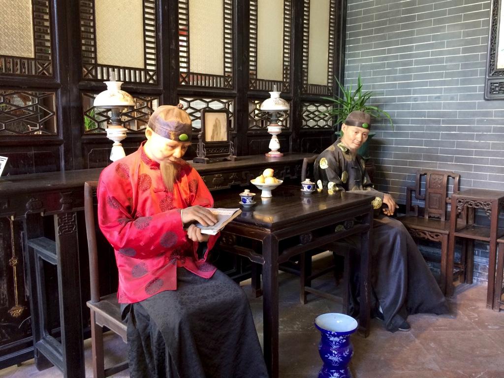中国の昔の様子を再現したもの