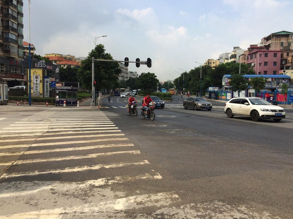 バイクが禁止されている道路
