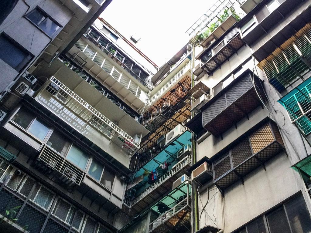 台北の建物