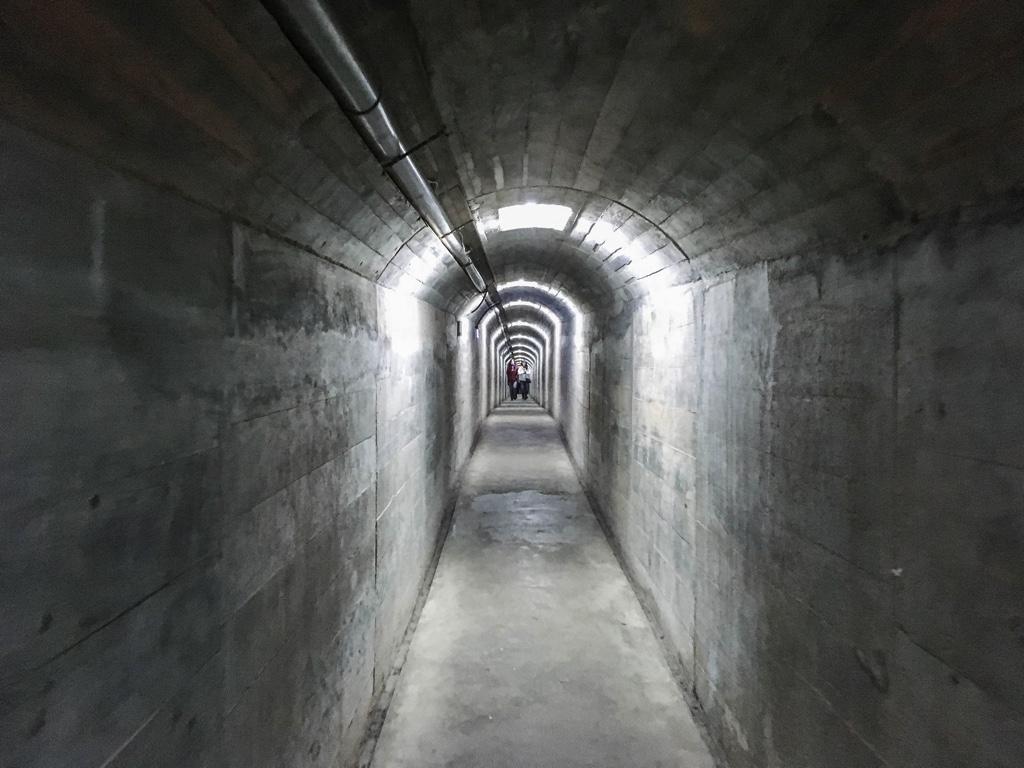 馬山觀測站の坑道