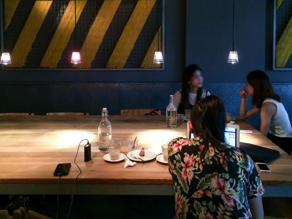 台北のカフェ