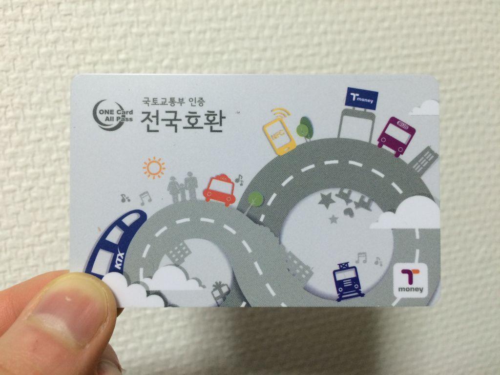 T-moneyカード
