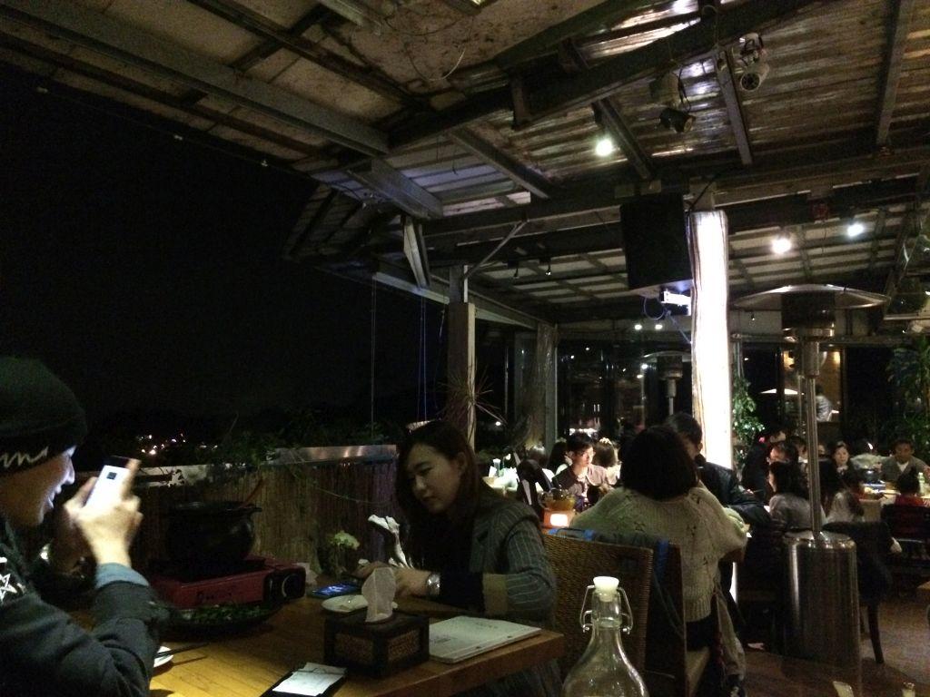 龍門客棧から見る夜景