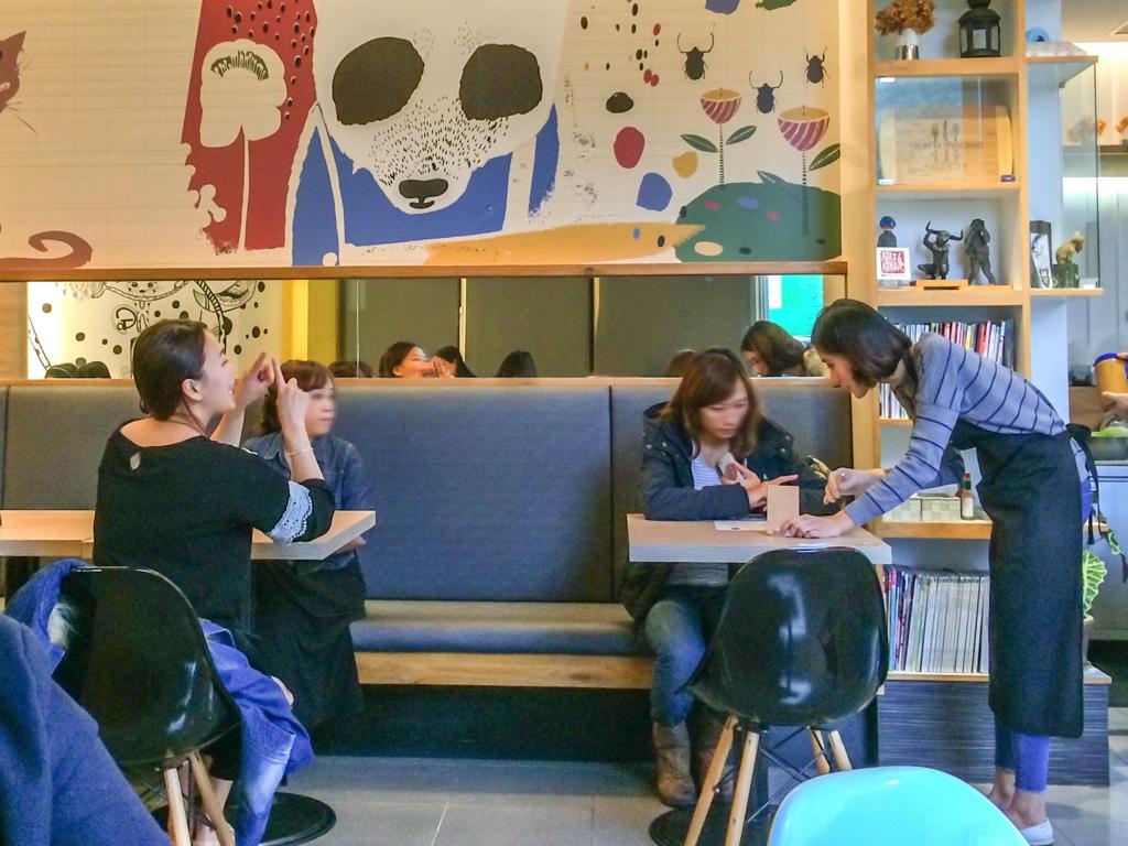 台湾のカフェ