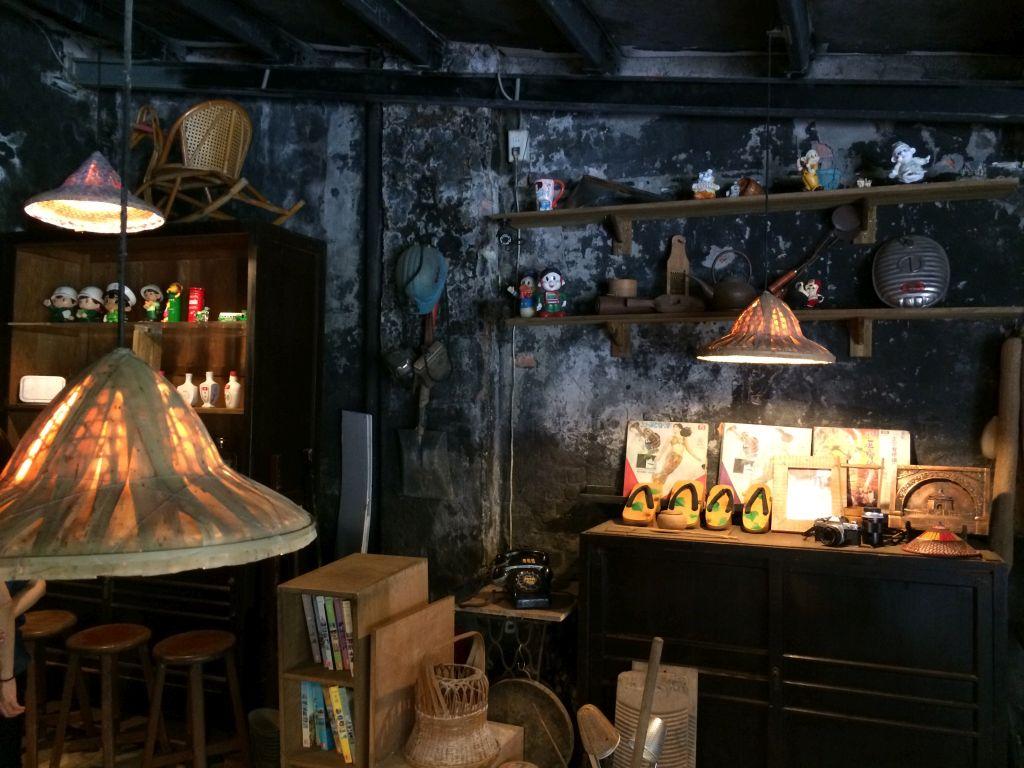 菁桐老街のカフェ