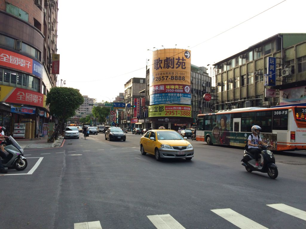 台北の交通状況