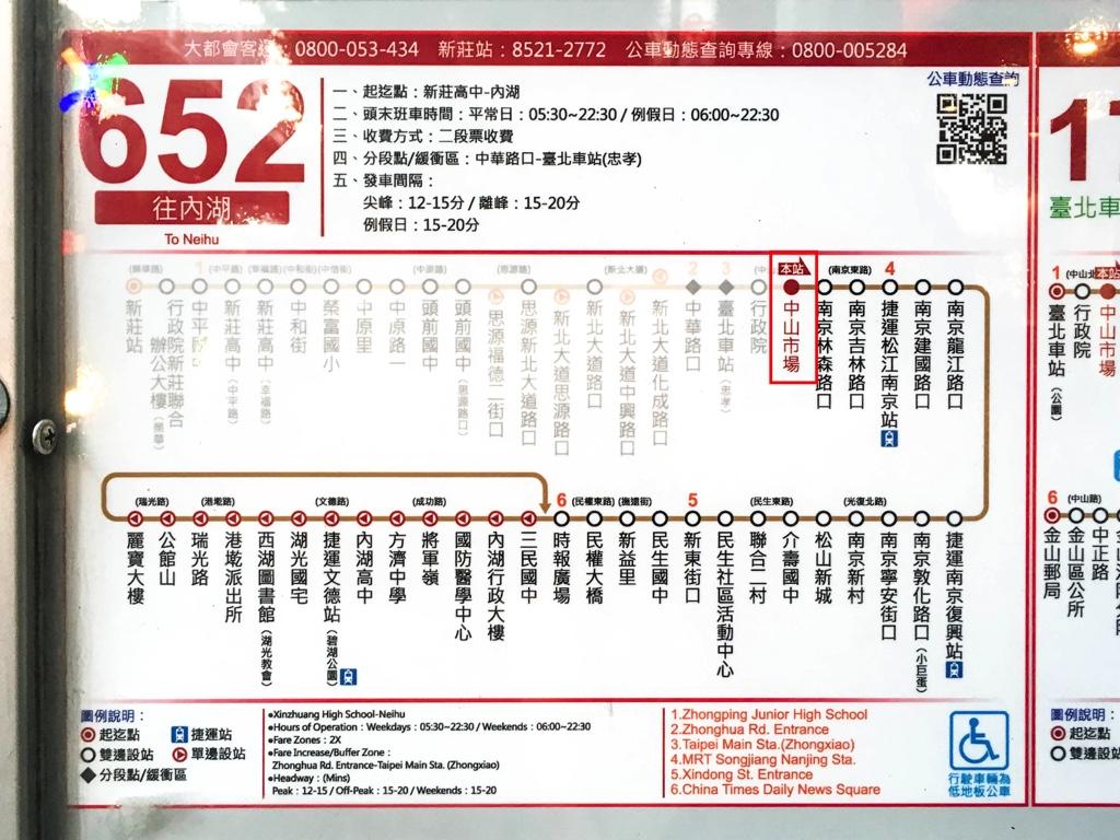 バスの路線図・情報
