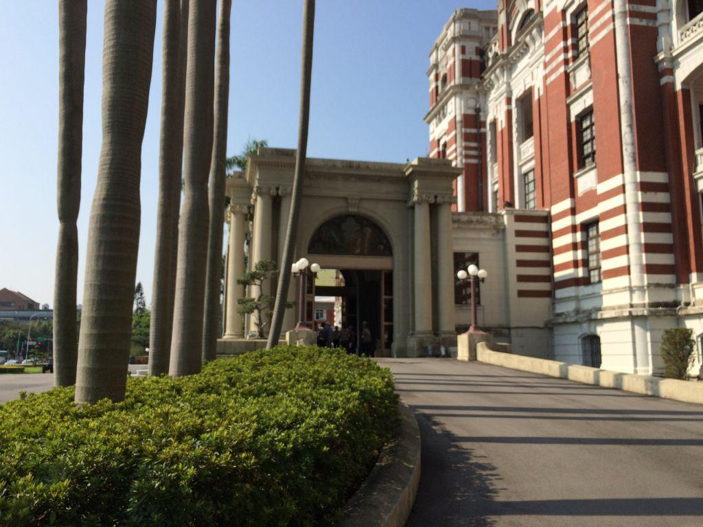 総統府入口