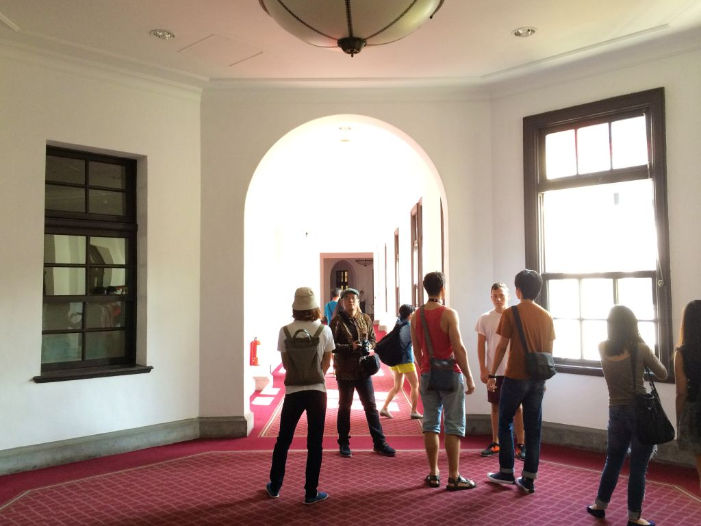 総統府廊下