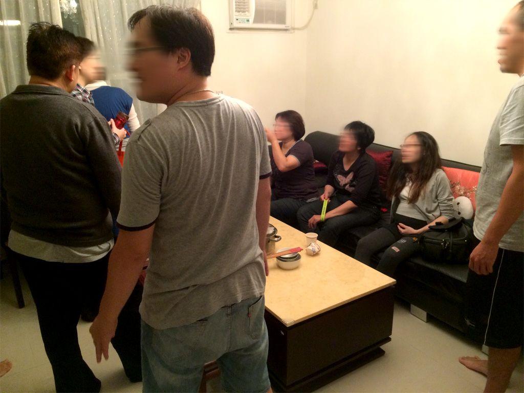 BBQパーティーに集まったメンバー
