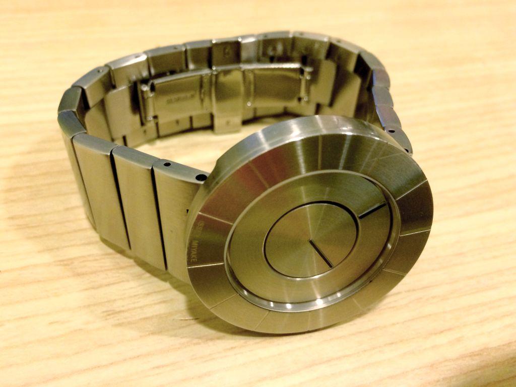 ISSEY MIYAKEのTOシリーズの腕時計