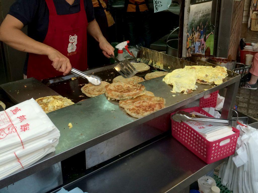 葱油餅(葱抓餅)
