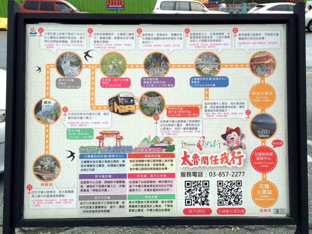 太魯閣ガイドマップ