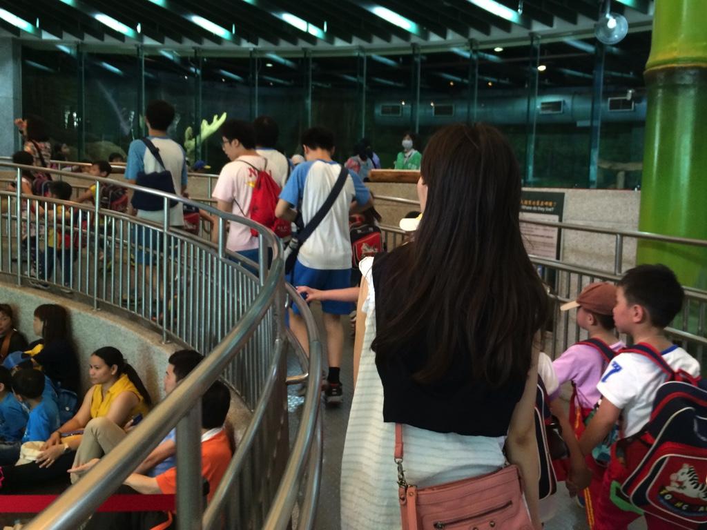 台湾人女性と台北市立動物園でデート
