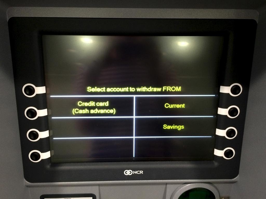 ATM操作画面02