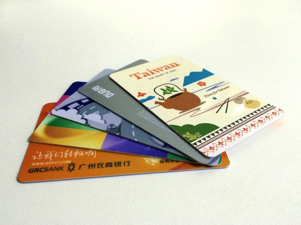 各国で購入したICカード