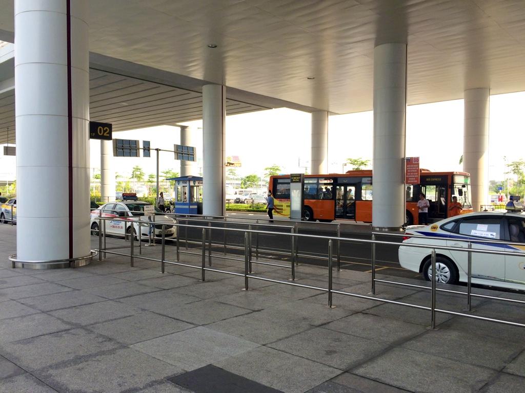 ノイバイ空港・バスターミナル