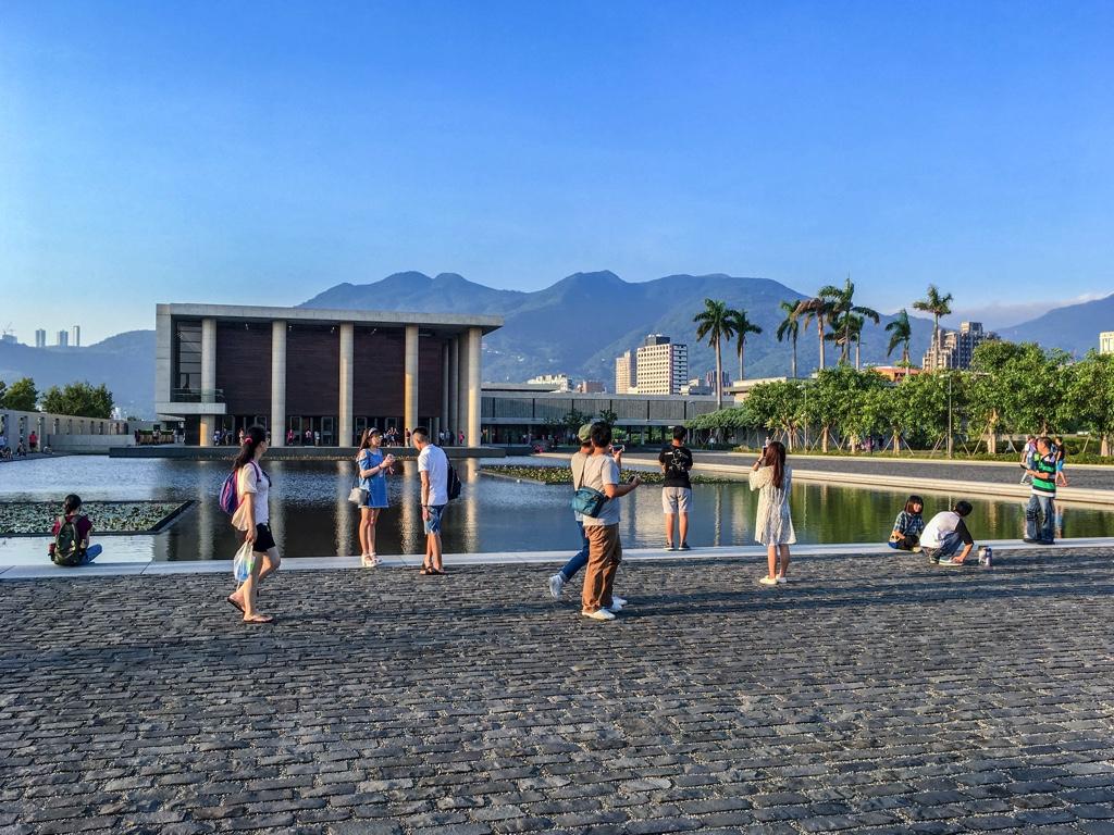 法鼓山農禪寺へ写真を撮りに集まった台湾人