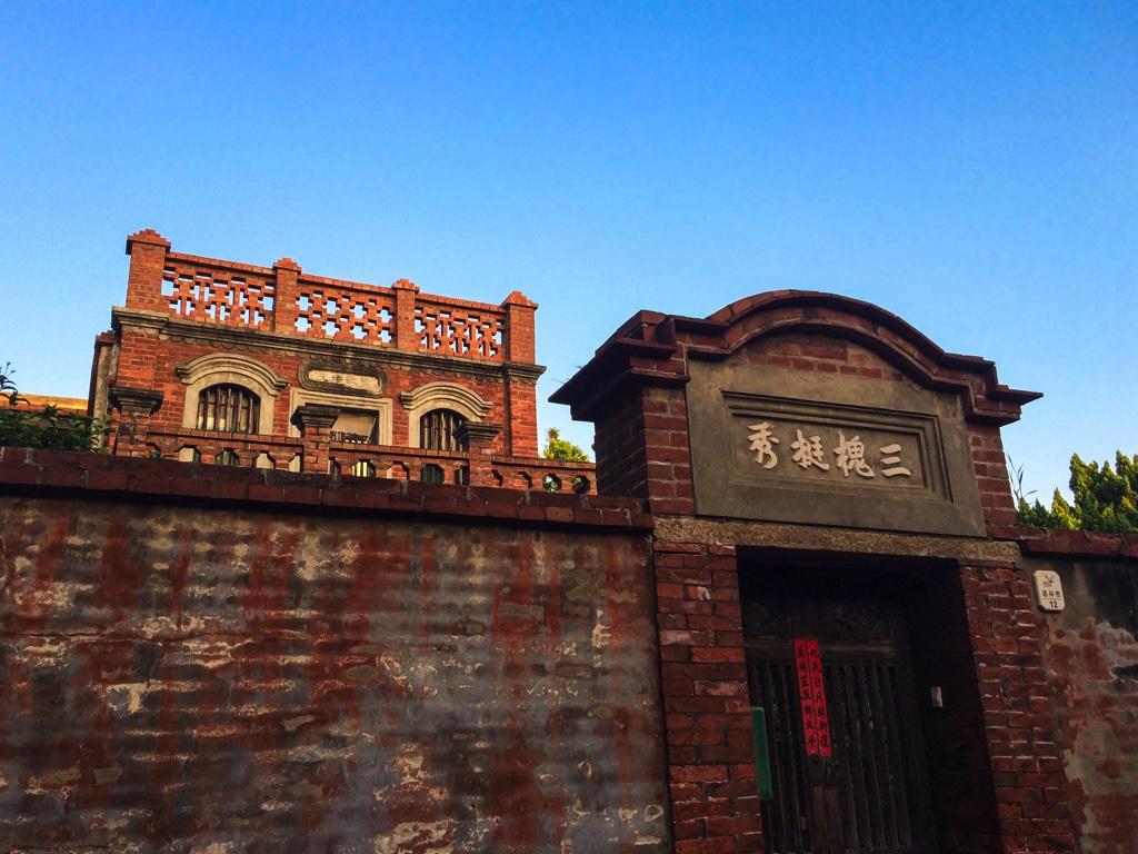 赤レンガの建物