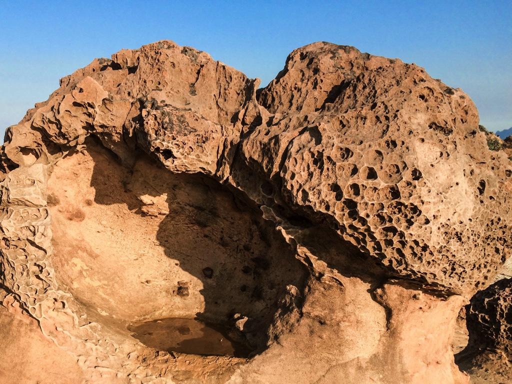 その他の独特な形状をした岩