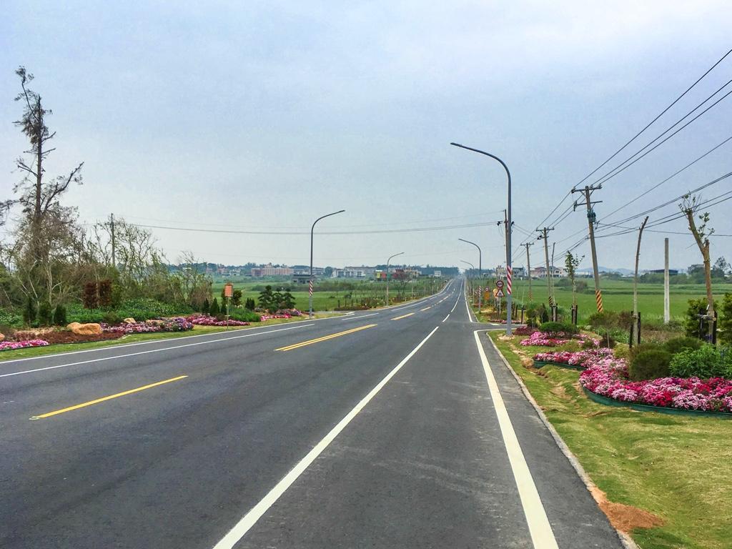 金門の道路