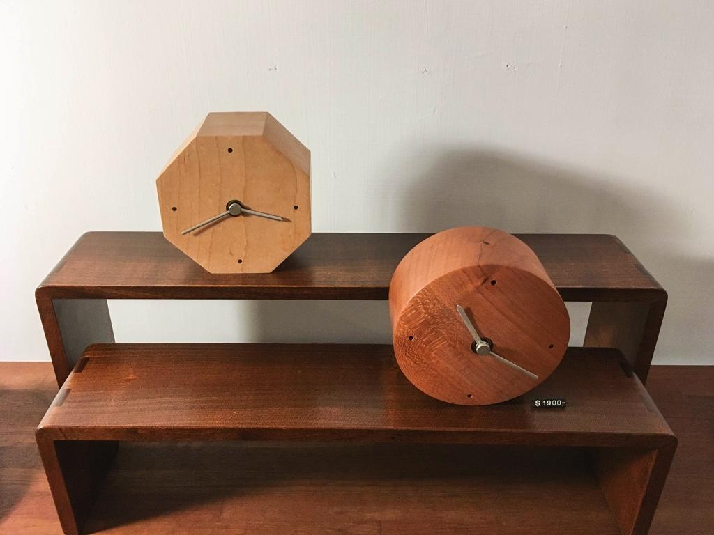 木製置き時計
