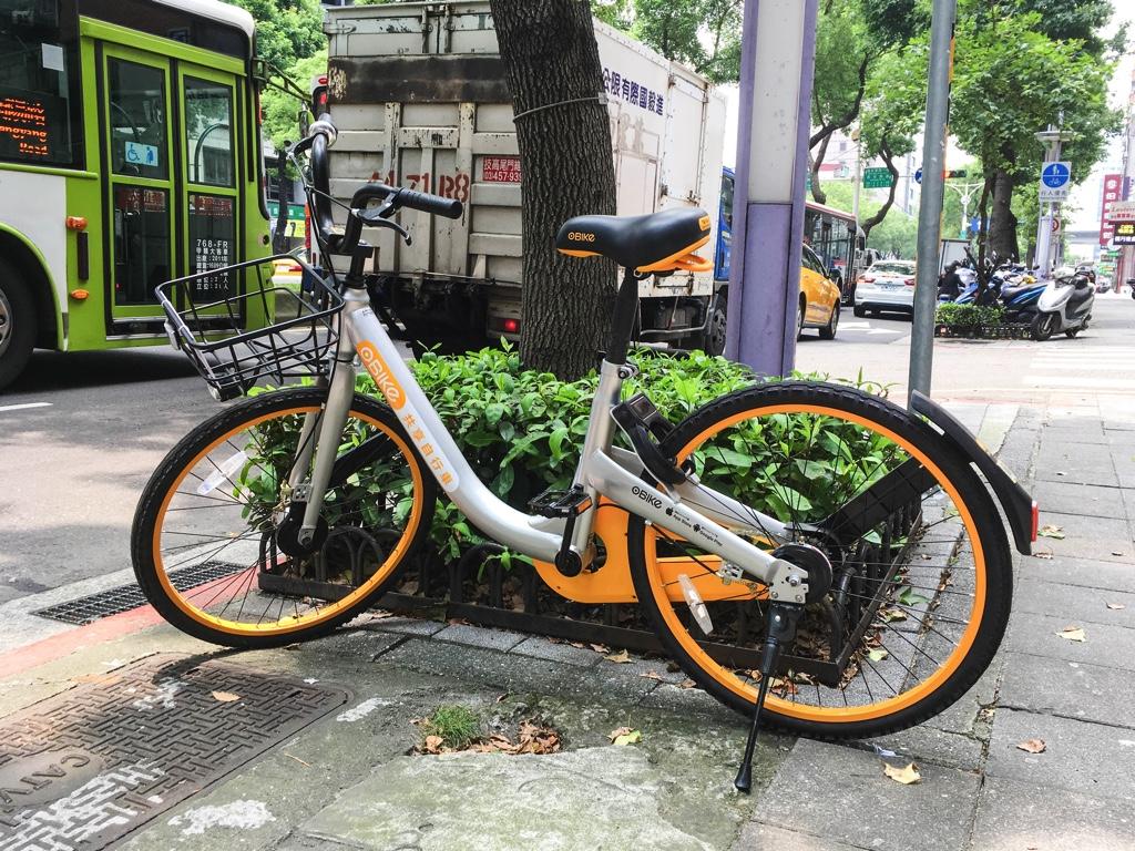 oBikeの自転車