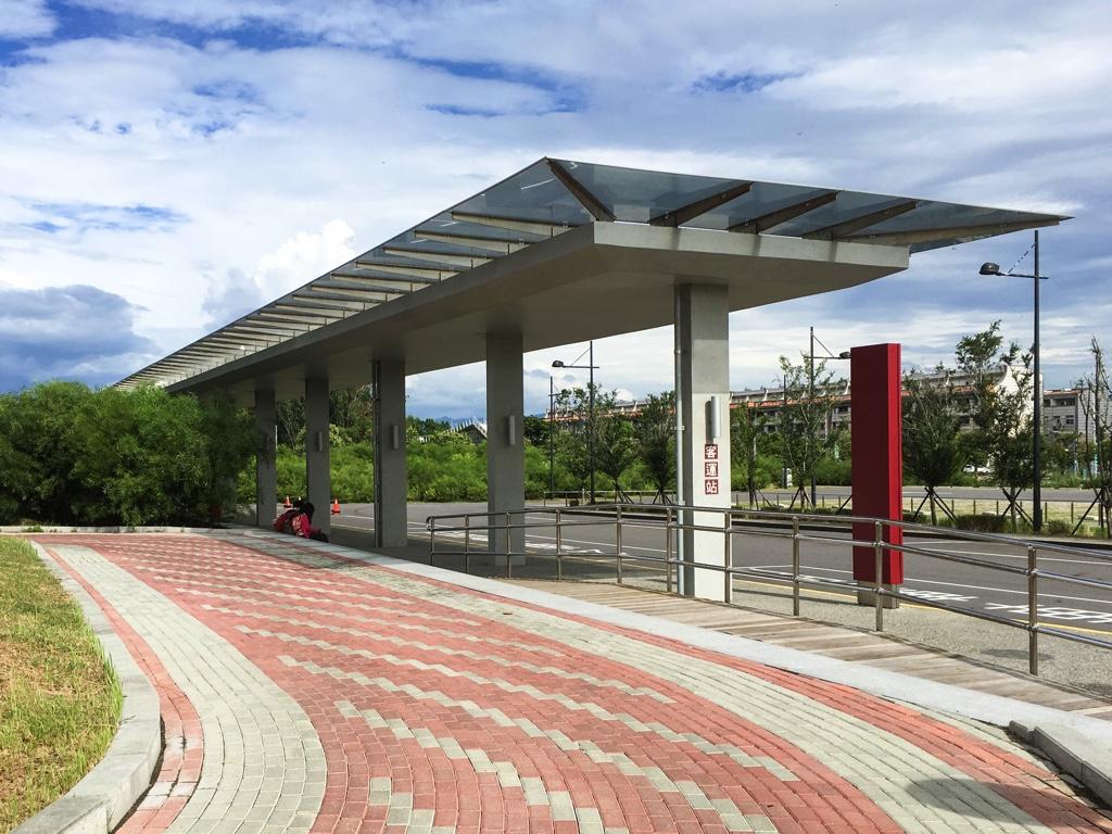 故宮博物院(南部院区)のバスターミナル
