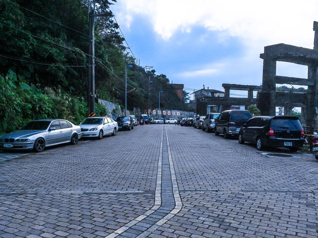 阿根納造船廠周辺の道路