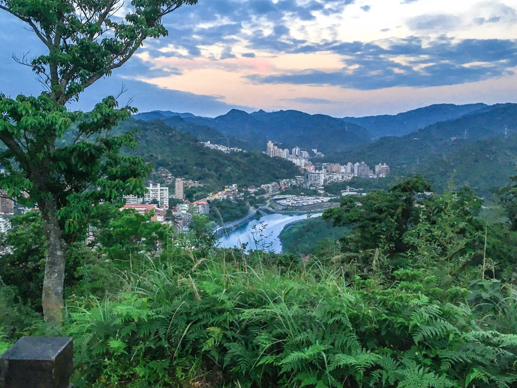 和美山山頂からの景色