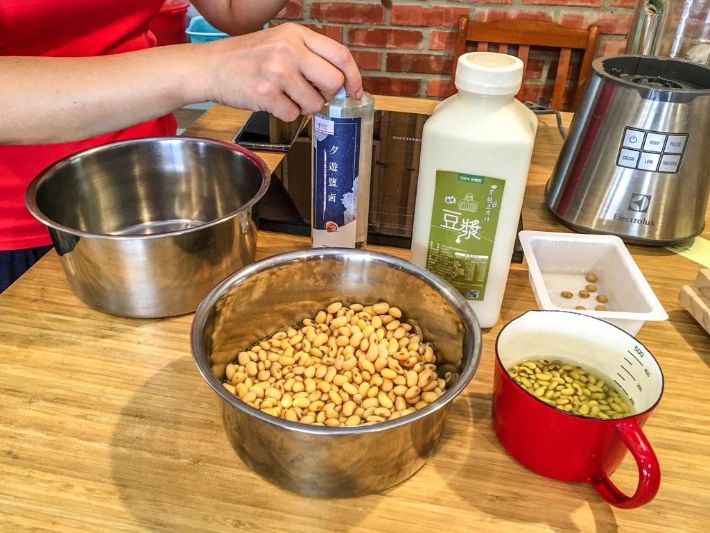 豆花や豆腐に関するレクチャー