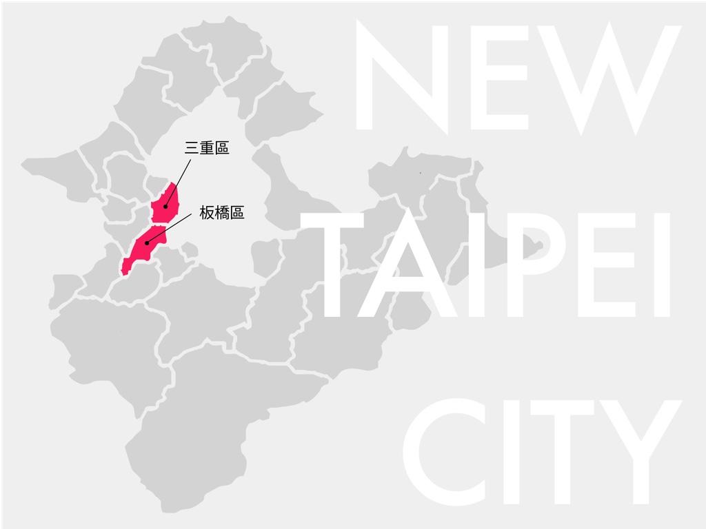 新北市概念図