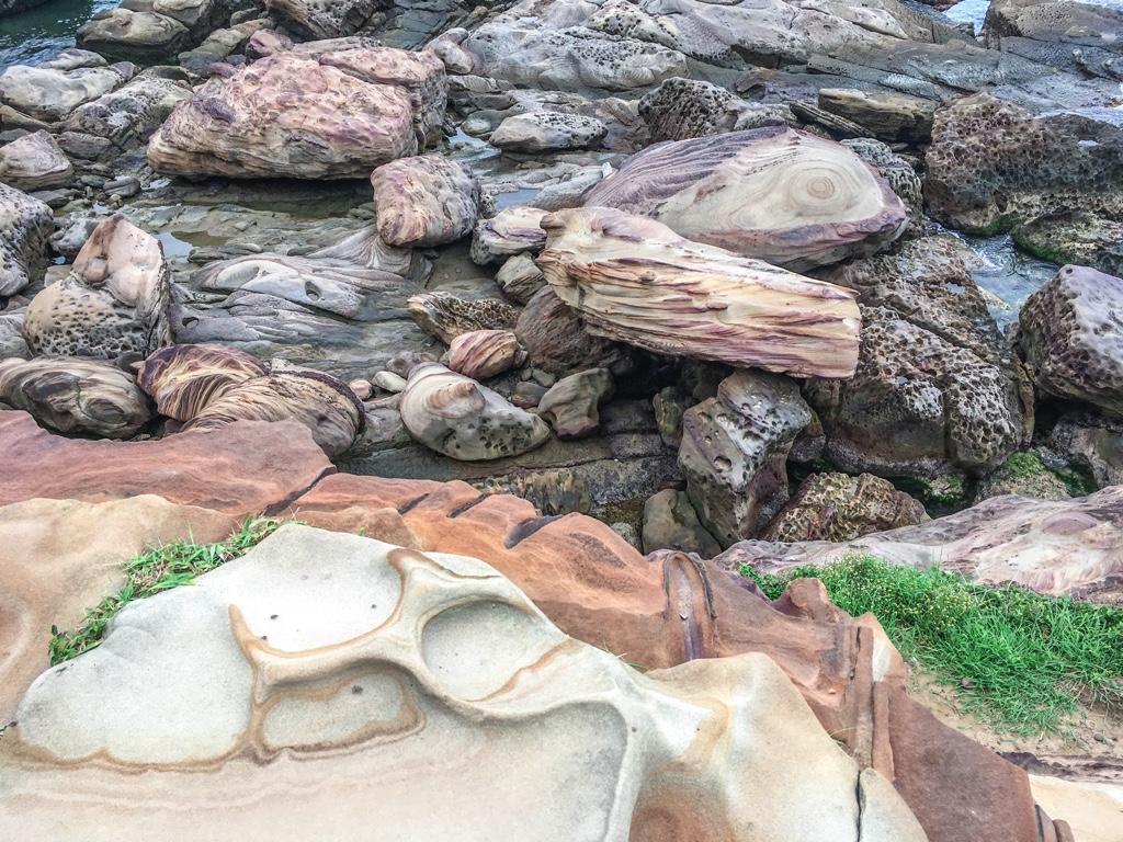 南雅奇岩にある岩