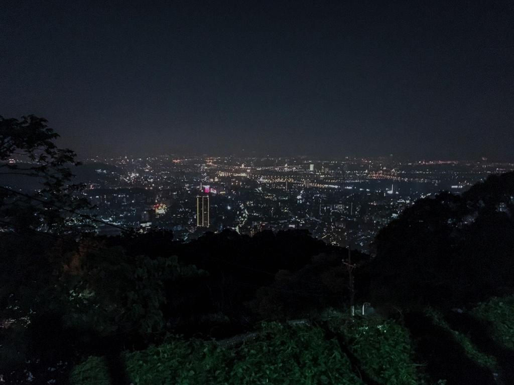 文化大學後山から見える夜景