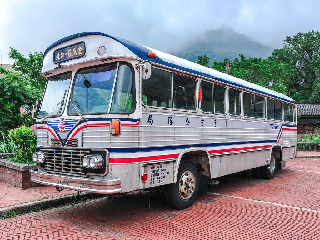 かつて金瓜石と台北を繋いでいたバス